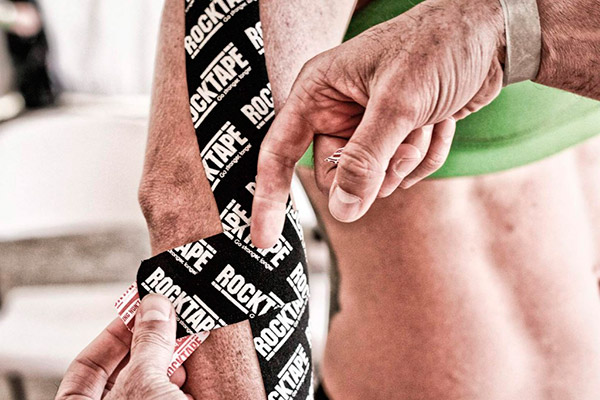 Taping from ROCKTAPE on A1 TRIATHLON competitions!